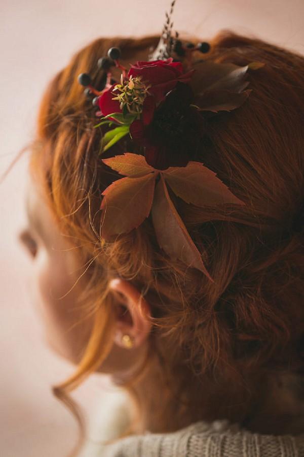 Autumn Wedding Flower Crown