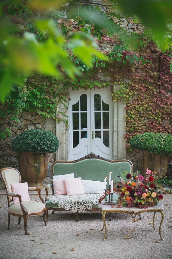 Autumnal Inspired Chateau Wedding Shoot