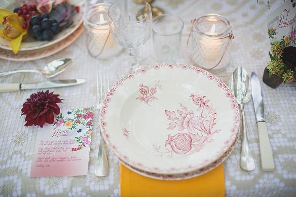 Burgundy Wedding Colours