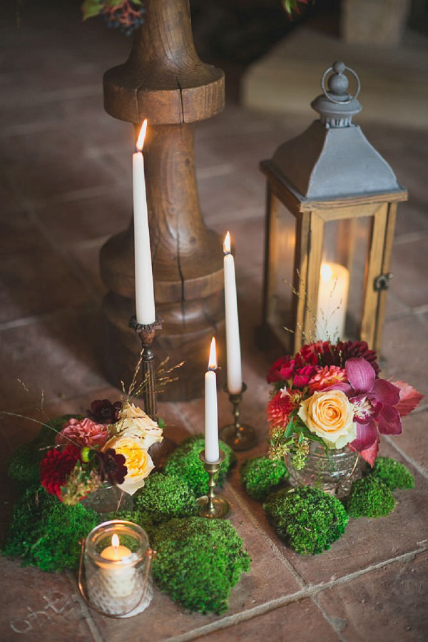 Candles and florals