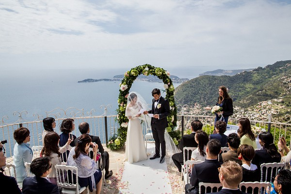Ceremony with a view