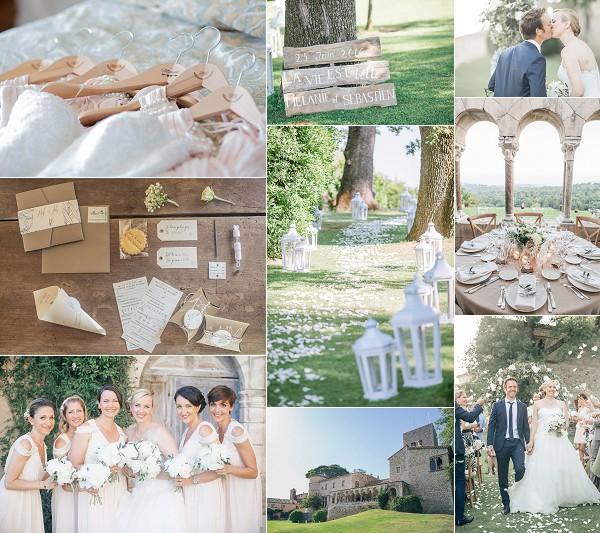 Château de Castellaras Summer Wedding Snapshot