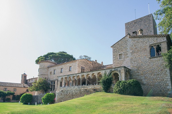 Château de Castellaras Summer Wedding