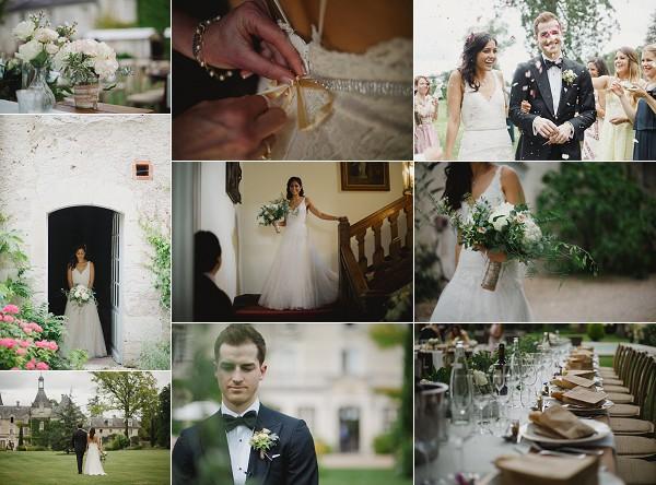 Dordogne Chateau Real Wedding Snapshot