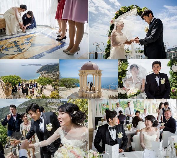 Elegant Chateau De La Chevre D'or Real Wedding Snapshot