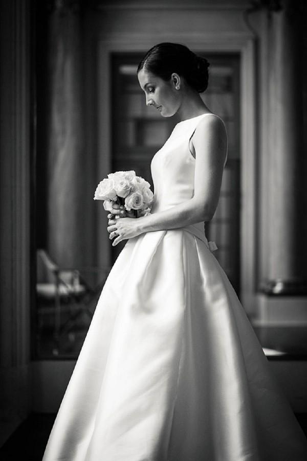 Elegant bridal wear