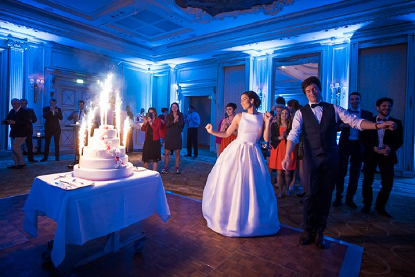 First Dance and Cake Cutting