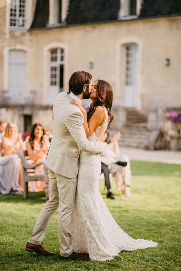 First Kiss Wedding