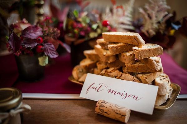 Homemade Wedding Treats
