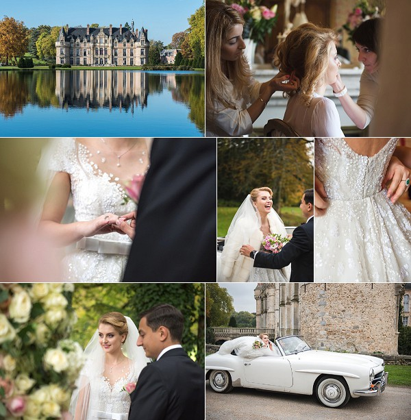 Luxury Château D'Esclimont Wedding Snapshot
