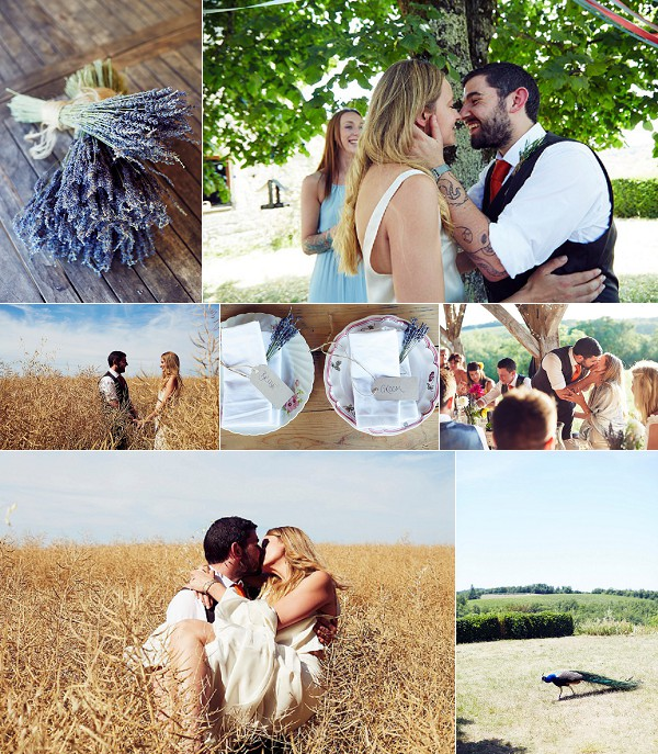 Manoir de la Gabertie Relaxed DIY Wedding Snapshot