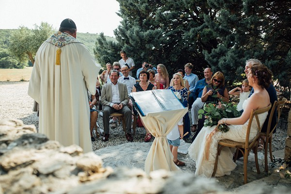 Outdoor south of France wedding