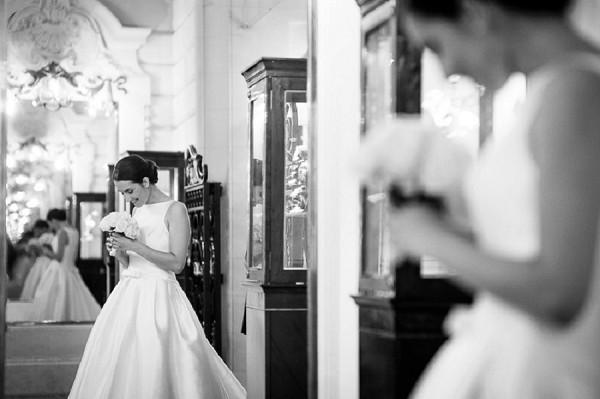 Paris Bride Portrait