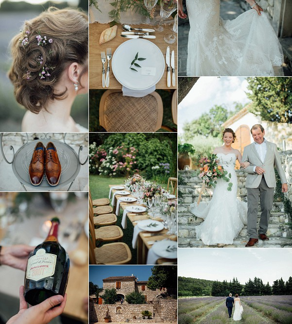 Provence For A Countryside Chic Wedding Snapshot
