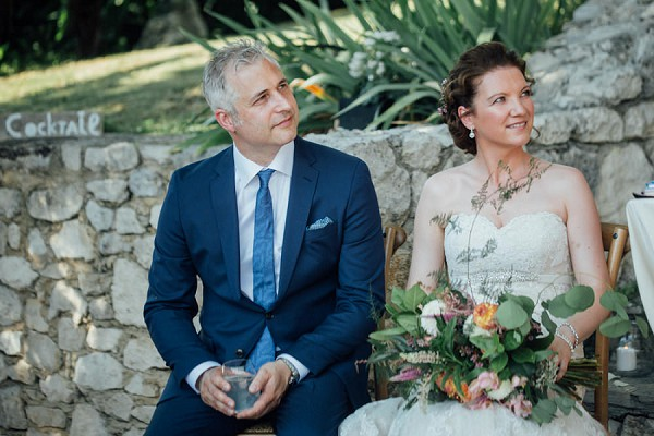 Provence wedding ceremony