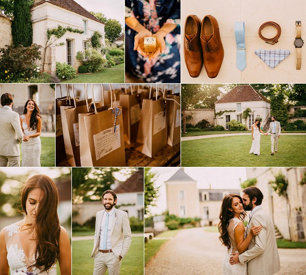 Romantic Chateau de Mailly Real Wedding Snapshot