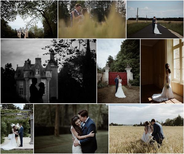 Romantic Wedding at Chateau St Julien Snapshot
