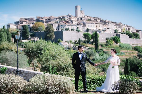 Saint Paul de Vence village Wedding