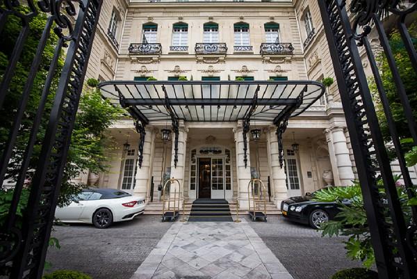 Shangri La Wedding in Paris
