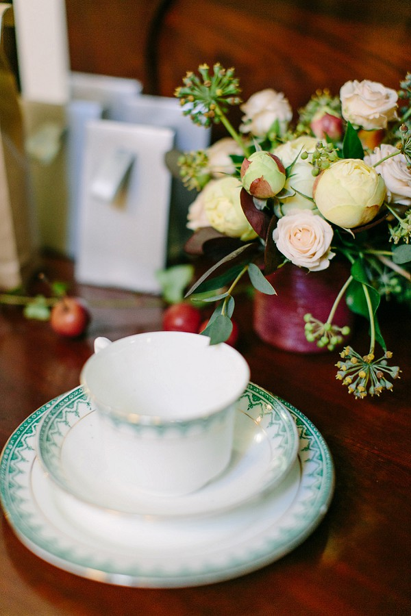 Vinatge Tea Cup Wedding Reception