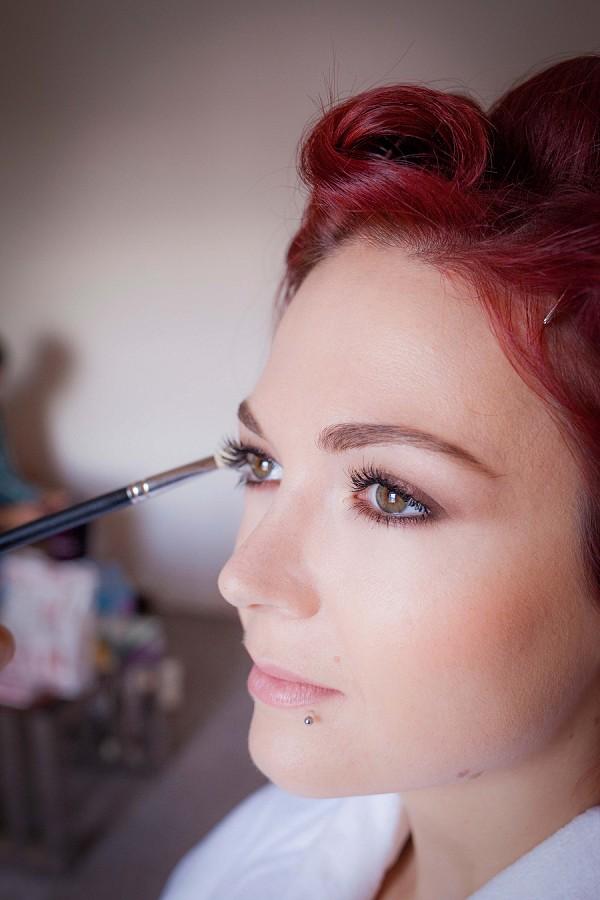 Virginie Debourg Wedding Hair and Make Up