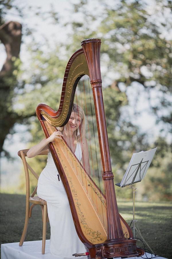 Wedding Harp Ceremony