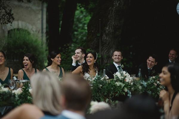 abundant greenary wedding