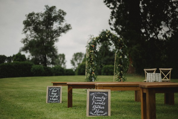 ceremony signs