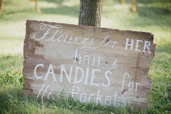 cute wedding sign ideas
