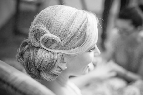 hollywood style wedding hair