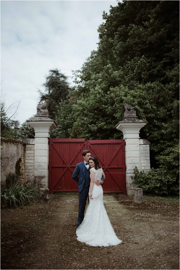 lace back Mori Lee wedding dress | Image by Biano Photography