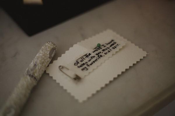 little wedding details