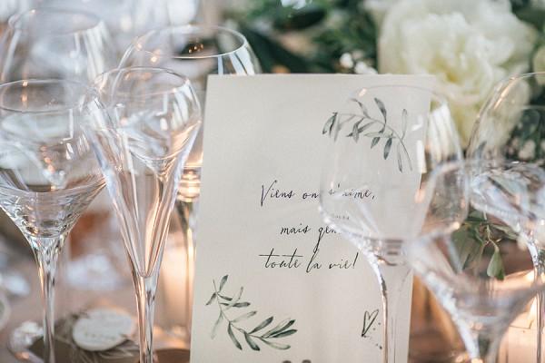 olive tree wedding stationary