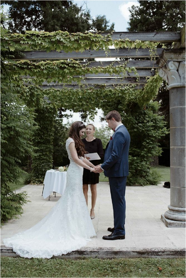 outdoor wedding space | Image by Biano Photography