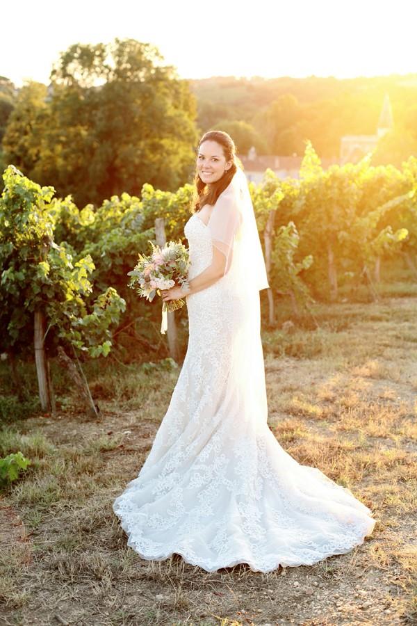 Bordeaux Bridal Portrait
