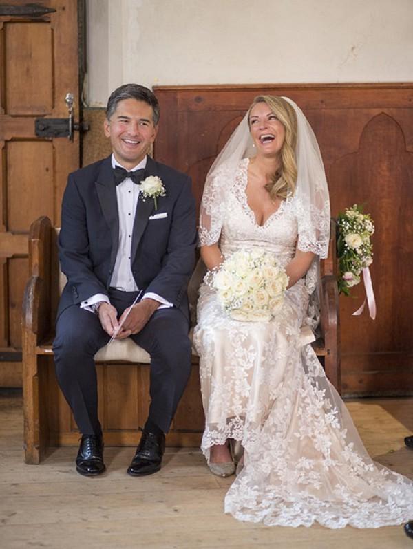 Bow tie wedding Chamonix