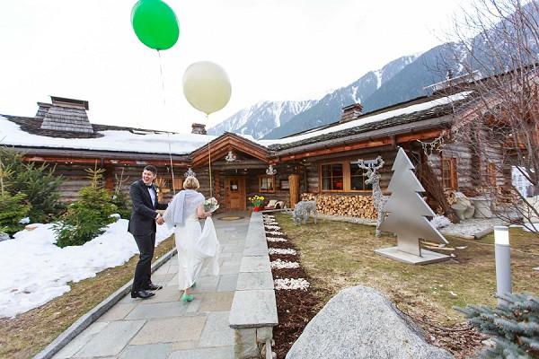 Chamonix Wedding Reception