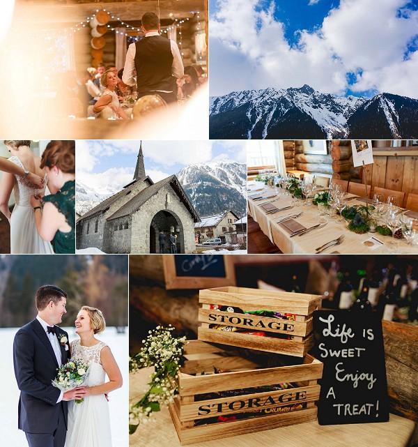 Destination Chamonix Winter Wedding Snapshot