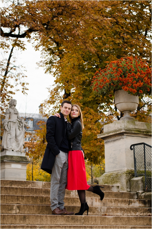 Engagement photography in Paris | Image by Shantha Delaunay