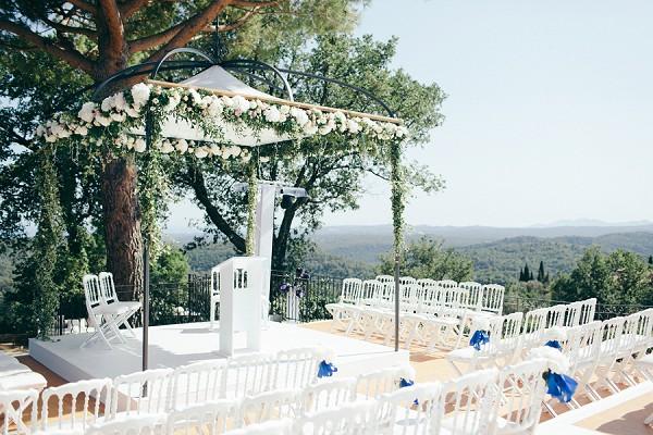 Garden Wedding View
