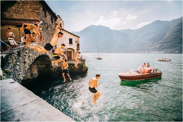 Italian wedding lake Destination Wedding Photographer Gabriele Basilico
