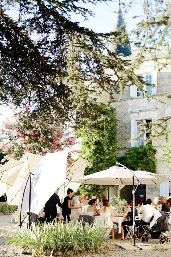Outdoor Chateau Wedding