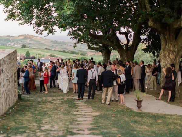 Outdoor Countryside Wedding reception