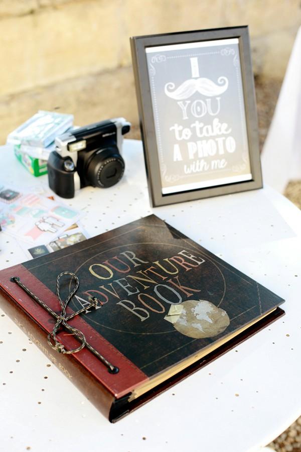 Polaroid Wedding Day