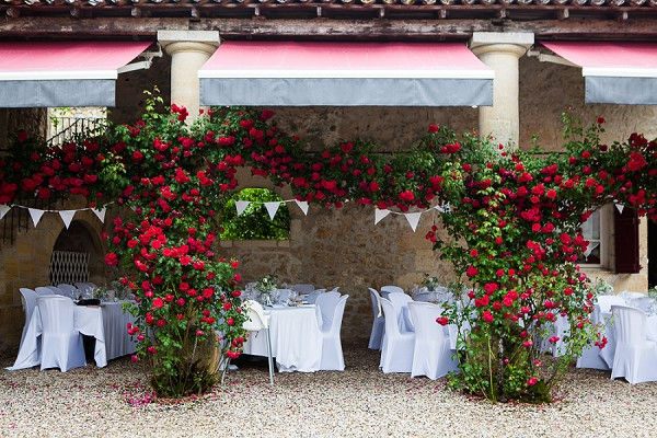 Relaxed French Wedding Reception