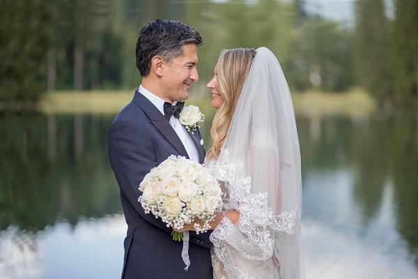 Romantic Chamonix Wedding