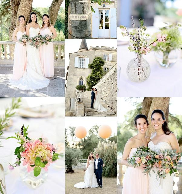 Rustic Chic Chateau Lagorce Real Wedding Snapshot