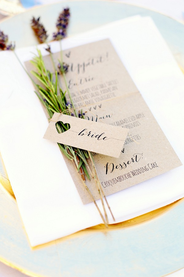 Rustic Chic Wedding Stationary