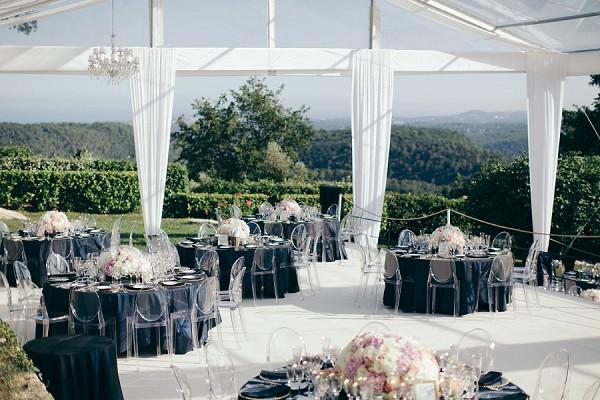 Stylish French Riviera Garden Wedding