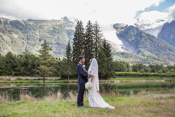 Summer Mountain Top Chamonix Weekend Wedding